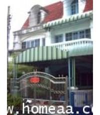 ทาวน์เฮ้าส์ 2.5 ชั้น หมู่บ้านบุษราคัมริมน้ำ ซ.จรัญฯ 45 เนื้อที่ 16 ตร.วา สภาพพร้อมอยู่