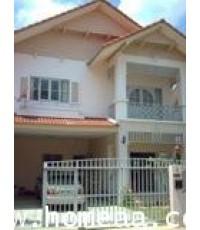 บ้านเดี่ยว 2 ชั้น หมู่บ้านพฤกษาการ์เด้นโฮม2 ซ.วัดพระเงิน เนื้อที่ 67.50 ตร.วา สภาพพร้อมอยู่