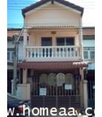 ทาวน์เฮ้าส์ 2 ชั้น หมู่บ้านดอนเมืองวิลล่า1 ถ.สรงประภา-ดอนเมือง เนื้อที่ 20 ตร.วา พร้อมอยู่