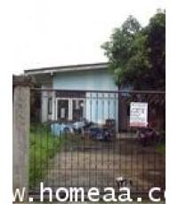บ้านเดี่ยว 1 ชั้น ซ.ต้นสน 9  ปากเกร็ด เนื้อที่ 104 ตร.วา สภาพพร้อมอยู่