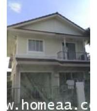 บ้านเดี่ยว 2 ชั้น หมู่บ้านพฤกษ์ลดา ลำลูกกาคลอง4 เนื้อที่ 57 ตร.วา ซ.8  สภาพพร้อมอยู่