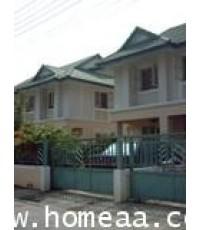 บ้านแฝด 2 ชั้น หมู่บ้านพฤกษา25 ซ.กันตนา นนทบุรี เนื้อที่ 35 ตร.วา บางใหญ่ พร้อมอยู่