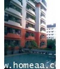 คอนโดมิเนียม บ้านชมดาว ซ.อ่อนนุช 21/1 ชั้น6 เนื้อที่ 34.52 ตร.ม. สภาพพร้อมอยู่