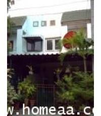 ทาวน์เฮ้าส์ 2 ชั้น หมู่บ้านมโนรมย์4 ถ.เลียบคลองสอง เนื้อที่ 16 ตร.วา คลองสามวา พร้อมอยู่