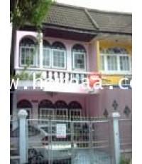 ทาวน์เฮ้าส์ 2 ชั้น หมู่บ้านธารทองนิเวศน์ ถ.พหลโยธิน บางเขน เนื้อที่ 22 ตร.วา สภาพพร้อมอยู่