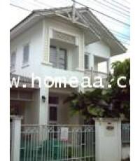 บ้านเดี่ยว 2 ชั้น (บ้านแฝด) หมู่บ้านฟ้าปิยรมย์ ซ.อิงนที ลำลูกากาคลอง6 เนื้อที่ 39 ตร.วา พร้อมอยู่