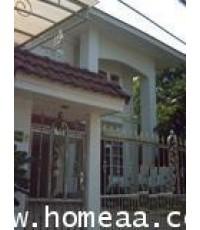 บ้านเดี่ยว 2 ชั้น ซ.สวนผัก50 เนื้อที่ 111 ตร.วา ต.ฉิมพลี ตลิ่งชัน สภาพพร้อมอยู่