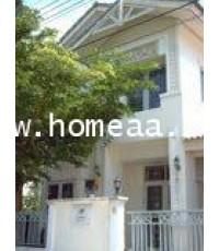 บ้านแฝด 2 ชั้น  หมู่บ้านบ้านฟ้าปิยรมย์ เฟส7 เนื้อที่ 38 ตร.วา ลำลูกกา ปทุมธานี พร้อมอยู่
