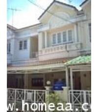 ทาวน์เฮ้าส์ 2 ชั้น หมู่บ้านนันทนาการ์เด้น ถ.345 เนื้อที่ 27 ตร.วา บางคูวัด  ปทุมธานี พร้อมอยู่