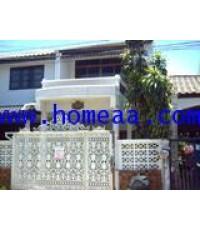 บ้านแฝด 2 ชั้น หมู่บ้านลานทอง เนื้อที่ 40 ตร.วา  ซ.ติวานนท์-ปากเกร็ด นนทบุรี สภาพพร้อมอยู่