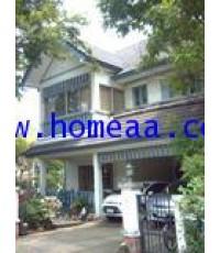 บ้านเดี่ยว 2 ชั้น (หลังมุม) หมู่บ้านวรารมย์81 ซ.เพชรเกษม81 เนื้อที่ 88.60 ตร.วา พร้อมอยู่