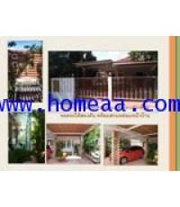 บ้านเดี่ยว  1 ชั้น หมู่บ้านศรีเทพไทย บางนา-ตราด กม.43 เนื้อที่ 50 ตร.วา จ.ฉะเชิงเทรา