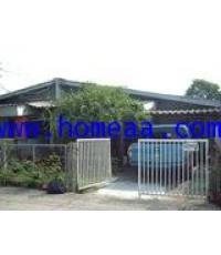 บ้านแฝด1 ชั้น  หมู่บ้านประชานิเวศน์3 ถ.สามัคคี เนื้อที่ 48 ตร.วา อ.เมือง นนทบุรี พร้อมอยู่