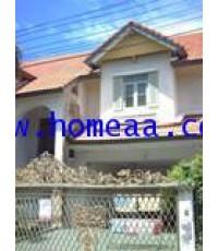 บ้านเดี่ยว 2 ชั้น หมู่บ้านวรารมย์ ซ.ราษฎร์อุทิศ สุวินทวงศ์ เนื้อที่ 159.30 ตร.วา พร้อมอยู่