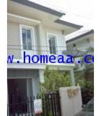 บ้านแฝด 2 ชั้น  หมู่บ้านพฤกษาวิลเลจ28 Scenery เนื้อที่ 35.70 ตร.วา ซ.แก้วอินทร์ พร้อมอยู่