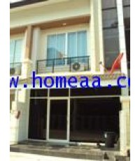 ทาวน์โฮม 2 ชั้น หมู่บ้าน RK office Park เนื้อที่ 20 ตร.วา ถ.สุวินทวงศ์ มีนบุรี พร้อมอยู่
