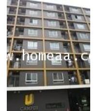 คอนโดมิเนียม ยูแคมปัส อาคารA ชั้น8 เนื้อที่ 39.71 ตร.ม. รังสิต-เมืองเอก พหลโยธิน87 ธัญบุรี ปทุมธานี