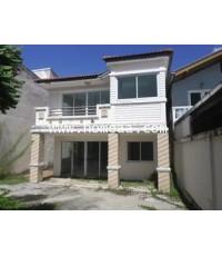 บ้านเดี่ยว 2 ชั้น ซ.กรุงเทพนนท์12 เนื้อที่ 50 ตร.วา  อ.เมือง จ.นนทบุรี พร้อมอยู่ (H1763)