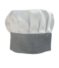 หมวกกุ๊ก สีเทา 1609-008