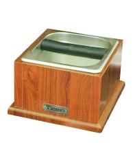 กล่องเคาะกากกาแฟลึก 10 ซม. กล่องไม้ Tiamo 1610-211
