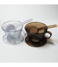 ถ้วยกรองกาแฟ coffee dripper 1-2 ถ้วย 1610-270