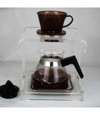 ดริปสเตชั่น อะคริลิค กรองกาแฟ 1 ถ้วย  1610-273
