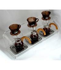 ดริปสเตชั่น อะคริลิค กรองกาแฟ 3 ถ้วย  1610-275
