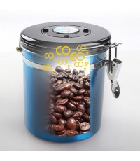 โถเก็บเมล็ดกาแฟ สูญกาศ กันความชื้น  1610-284