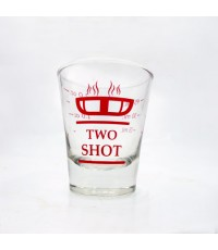แก้วตวง 2 ชอตต์  measuring cup 2 shot (Delisio) 1610-330