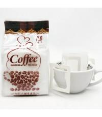 ถุงกรองกาแฟ หูแขวน  1 แพ็ค 50 ใบ 1610-345