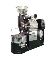 เครื่องคั่วกาแฟ 2 กิโลกรัม แก๊ส มีระบบเชื่อมต่อคอมพิวเตอร์เพื่อควบคุมการคั่ว 1614-117