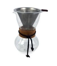 โถแก้วทำกาแฟดริป ชงกาแฟแบบหยดน้ำ โถแก้วขนาด 2-3 ถ้วย 1610-382