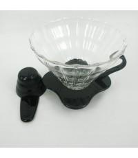 ถ้วยกรองกาแฟ coffee dripper 3-4 ถ้วย (ดำ) 1610-385-C01