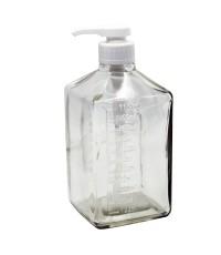 ขวดใส่น้ำเชื่อม หัวปั๊ม 1100 ml. 1610-392