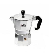 หม้อต้มกาแฟสดมอคค่าพอท (MOKA POT) อลูมิเนียม 3 ถ้วย iMIX 1614-097