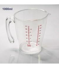 เหยือกตวงพลาสติก PS (เกรด A) 1000 ml. 1610-565