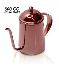 กาต้มน้ำดริปกาแฟ สีโรสโกลด์ 600 ซีซี. 1610-311-C15