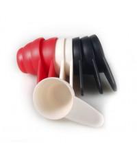 ช้อนตักกาแฟ ช้อนตวง 12 กรัม มีสี ดำ ครีม แดง 1610-607