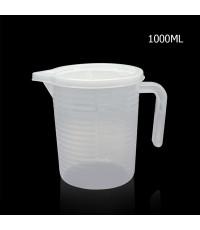 ถ้วยตวงพลาสติก 1000 CC มีฝาปิด 1610-618