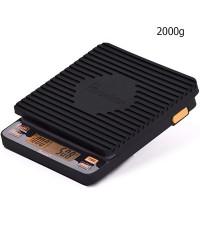 ตาชั่งดิจิตอล Brewista 2000g. ชาร์จแบตเตอรี่ด้วยสาย USB ใช้ในการชงเอสเปรสโซ่ และใช้ในครัว 0609-102