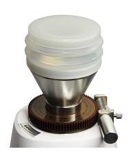 ตัวตบเมล็ดกาแฟ พร้อมใช้เป็น โถบดกาแฟอลูมิเนียมมินิ 40-50 g สีขาว 1614-224-1
