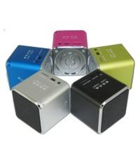 ขายลำโพงพกพาขนาดเล็ก คุณภาพเสียงดี เบสสนั่น มีแบตในตัว 5สีสันสดใส
