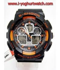 นาฬิกาข้อมือDigital US SUBMARINE S-SHOCK (ส้ม)