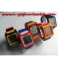 นาฬิกาข้อมือDigital หน้าปัดเหลี่ยม สายLEGO No.2