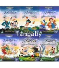 Walt Disney\'s Fables DVD Vol.1-6