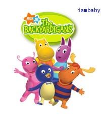 The Backyardigans มหัศจรรย์สวนหลังบ้าน VCD ชุด 4 แผ่น พากย์ไทย