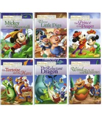 Disney\'s Fables Animation Collection ชุด7 DVD
