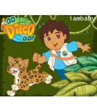 Go Diego Go ดีเอโก้เจ้าหนูนักอนุรักษ์ V2D/VCD ชุด 12 แผ่น พากย์ไทยเท่านั้น