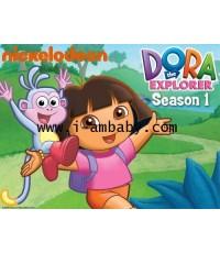 Dora the Explorer (Season1) Vol 1-12 : ดอร่า ดิเอกซ์พลอเรอร์ ซีซั่น1  12 แผ่นมาสเตอร์2ภาษา
