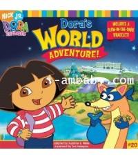 Dora The Explorer:Dora\'s World Adventure! ดอร่าผจญภัยในโลกกว้าง 1 DVD Master Zone3 2ภาษา
